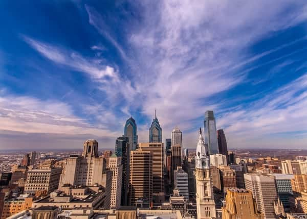 Best places to see Philadelphia's skyline: Loews Hotel