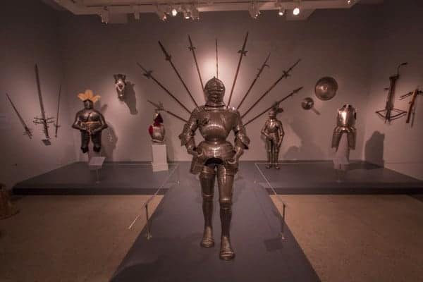 Reading Public Museum armor, Reading PA