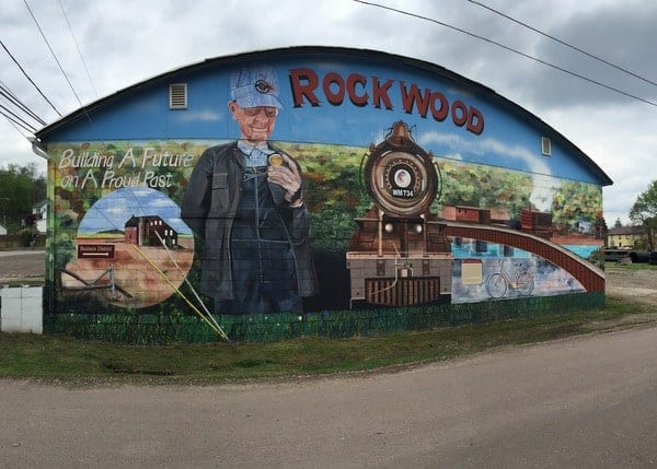 Rockwood, Pennsylvania, on the Great Allegheny Passage.