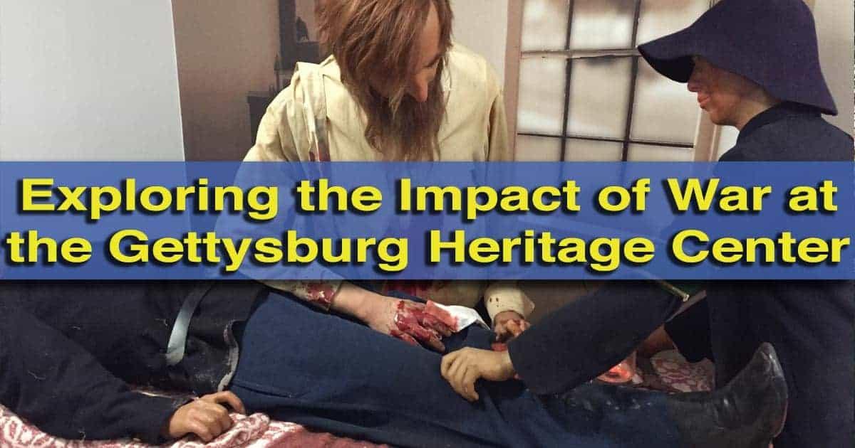 Visiting the Gettysburg Heritage Center in Gettysburg, Pennsylvania