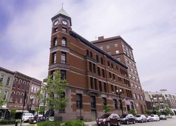 Visiting downtown Warren, Pennsylvania