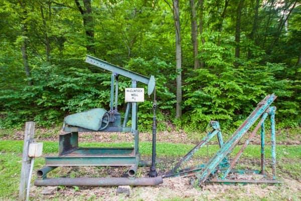 McClintock Well #1 in Oil City, Pennsylvania.
