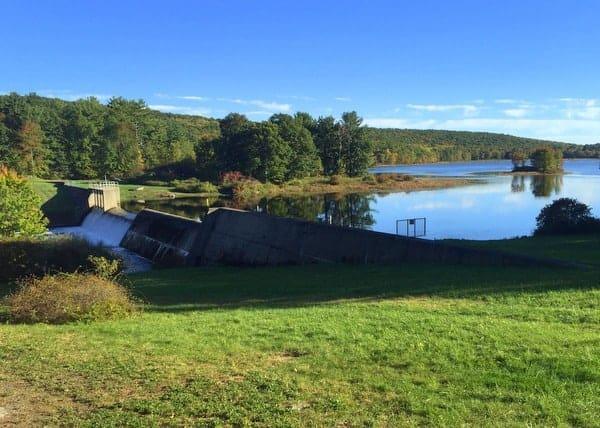 Shohola Lake in Pike County, Pennsylvania
