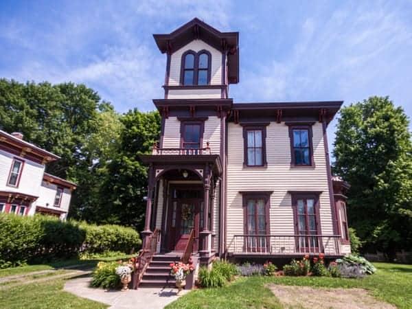 Tarbell home in Titusville, Pennsylvania.