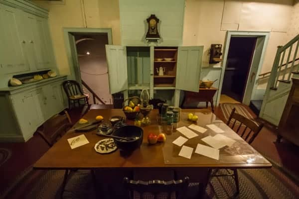 Kitchen In The Baker Mansion In Altoona, Pennsylvania