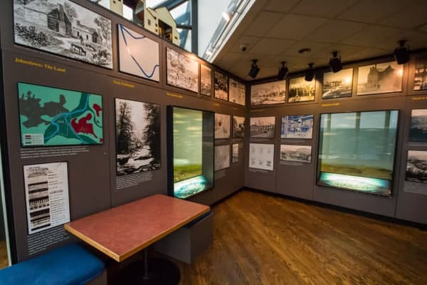 Museum at the Johnstown Inclined Plane in Johnstown, Pennsylvania