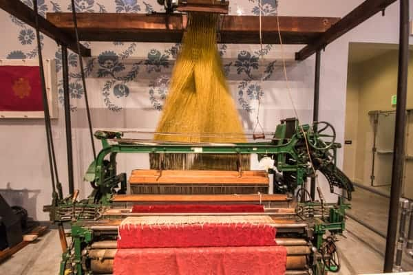 Jacquard Loom at the National Museum of Industrial History in Bethlehem, PA