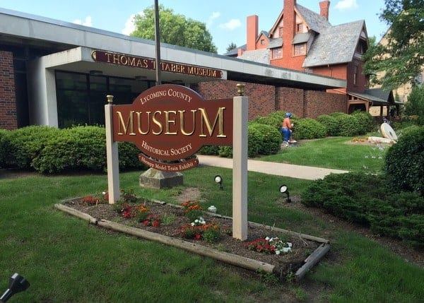 The Thomas T. Taber Museum in Williamsport, Pennsylvania