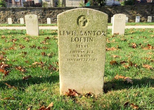 Grave of Louis Santop in Philadelphia, Baseball Hall of Fame