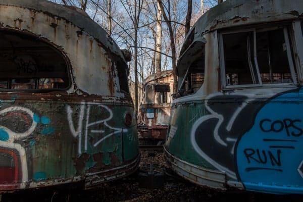 Vintage Electric Streetcar Company near Johnstown, PA