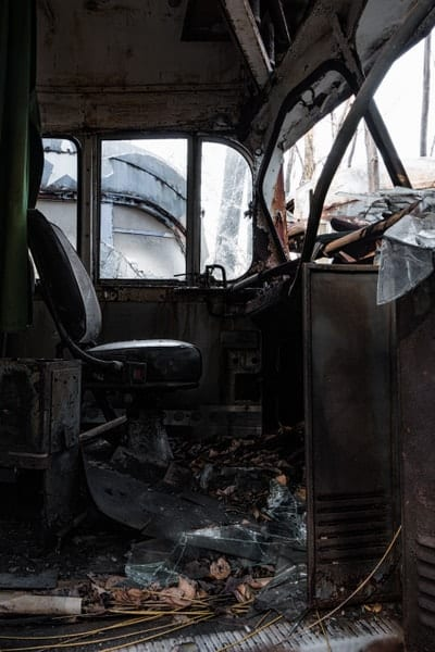 Inside the Abandoned Trolley Graveyard