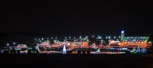 Visiting Koziar's Christmas Village in Bernville, PA