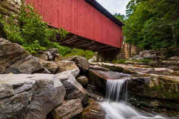 Top Pennsylvania Travel Photos of 2016 - Packsaddle Covered Bridge