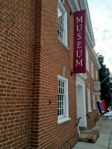 Visiting the York History Center's museum.