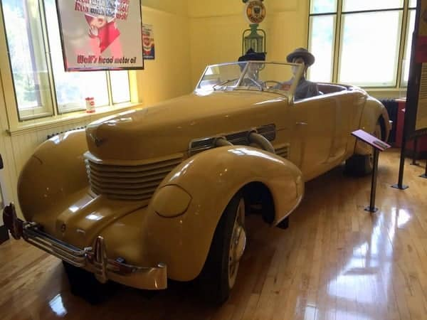 Automobile at the Venango Museum of Art, Science and Industry in Venango County, PA