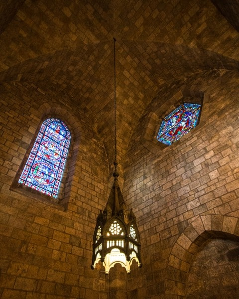 Inside Bryn Athyn Cathedral near Philadelphia, Pennsylvania