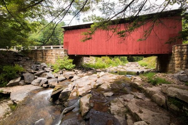 Somerset County's Packsaddle Covered Bridge