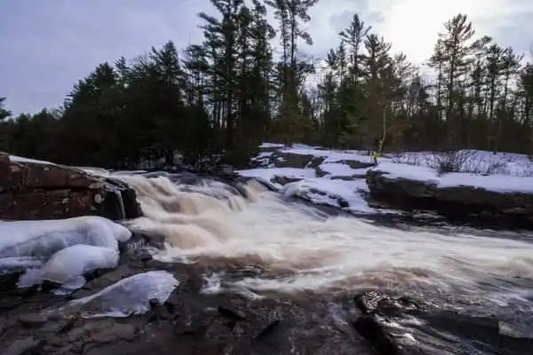 How to get to Tobyhanna Falls near Blakeslee, Pennsylvania