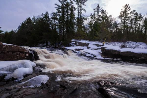 How to get to Tobyhanna Falls near Blakeslee, Pennsylvania