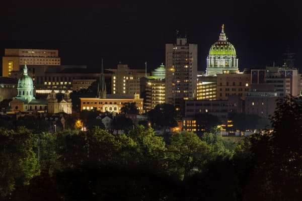 Where to shoot Harrisburg's skyline: Negley Park