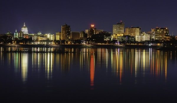 Places to shoot photos in Harrisburg: Wormleysburg Waterfront