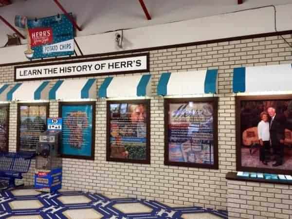 Herr's Factory Tour Gift Shop
