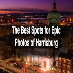 Photo locations in Harrisburg, PA