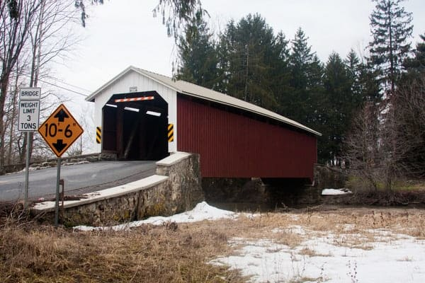 Forry's Mill Covered Bridge in Lancaster County, PA