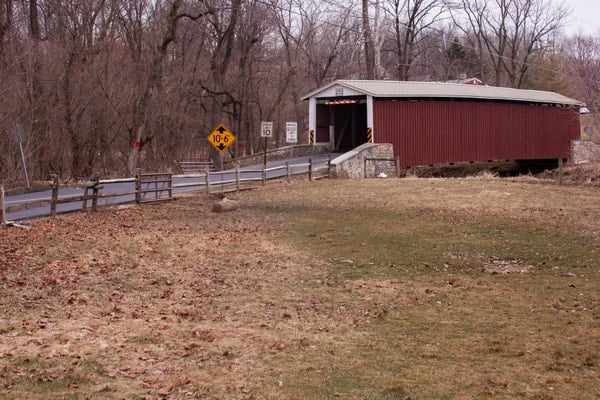 How to get to Kauffman Distillery Covered Bridge in Lancaster County, PA