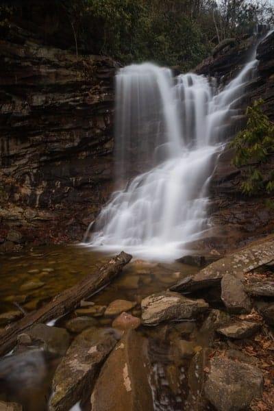 Chameleon Falls in Glen Onoko, Pennsylvania