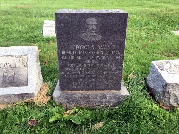 Baseball Hall of Famers buried in Philadelphia: George Davis