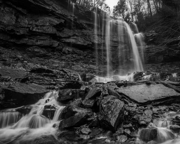 Hiking to Glen Onoko Falls in Carbon County, Pennsylvania