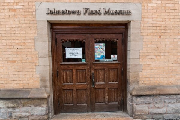 The Johnstown Flood Museum in Cambria County, Pennsylvania