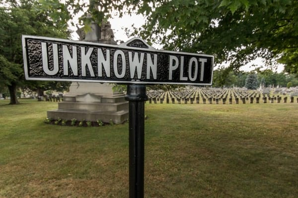 Johnstown Unknown Plot at the Grandview Cemetery