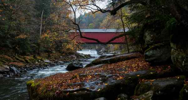 Where to hike during deer hunting season in Pennsylvania: McConnells Mill State Park