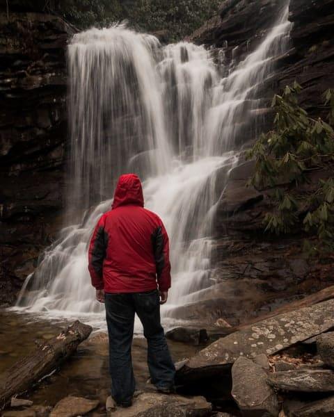 Hiking Glen Onoko in Jim Thorpe, Pennsylvania