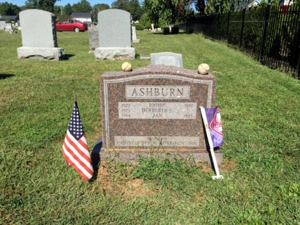 Baseball Hall of Famers buried in Philadelphia: Richie Ashburn
