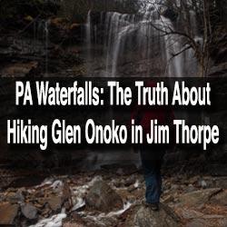 Hiking Glen Onoko Falls Trail