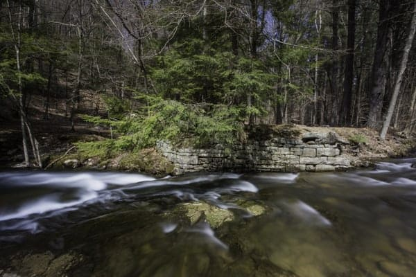Rattlesnake Falls in Lackawanna County, PA