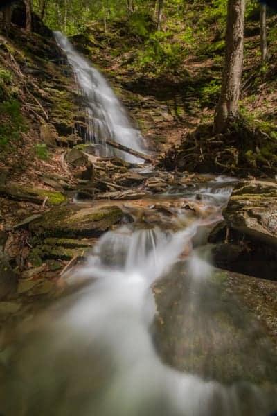 Waterfalls in the Pennsylvania Grand Canyon: Water Tank Run Falls