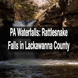 Rattlesnake Falls in Lackawanna County, PA