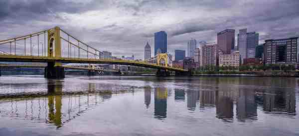 Sunset in Pittsburgh Photography Workshop