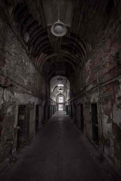 Inside Eastern State Penitentiary in Philly