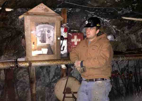 Visiting the Pioneer Tunnel Coal Mine in Ashland, PA