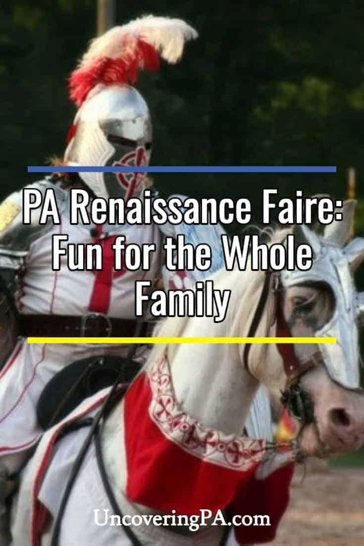 The Pennsylvania Renaissance Faire: Fun for the whole family