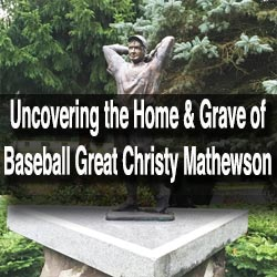 Christy Mathewson Grave