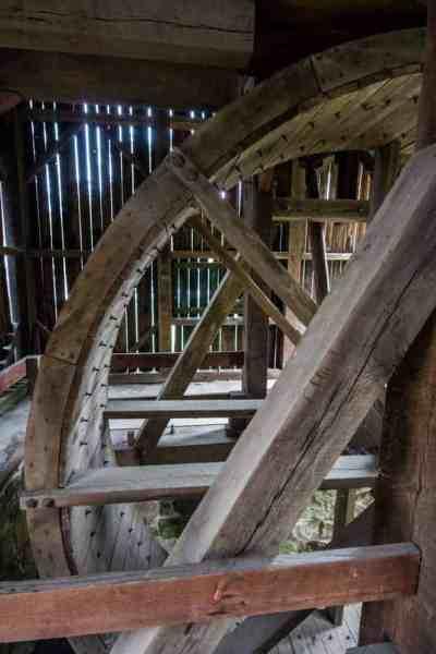 Visiting Curtin Village at Eagle Ironworks in Howard, Pennsylvania
