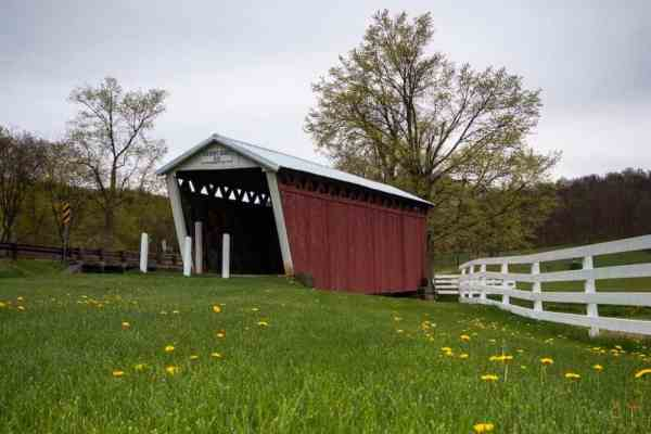Harmon's Covered Bridge in Indiana County, Pennsylvania