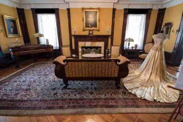 Inside the Lackawanna Historical Society Museum in Scranton, Pennsylvania.