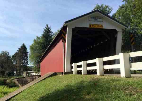 How to get to Thomas Ford Covered Bridge in Indiana County, Pennsylvania